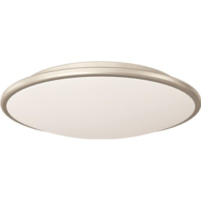 4-Light Flush Mount Size: 3.75 H x 16.75 D