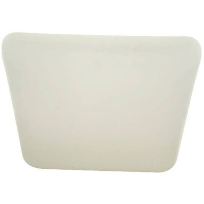 Square 1-Light Flush Mount Size: 3 H x 19 W x 19 D