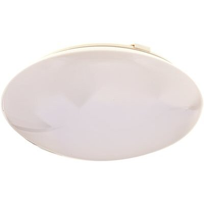 Round Ceiling Cloud 1-Light Flush Mount Size: 4 H x 13.75 W x 13.75 D