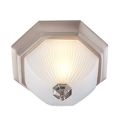 Decorative 3-Light Flush Mount Finish: Brushed Nickel