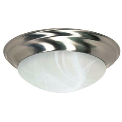 Twist and Lock 3-Light Flush Mount