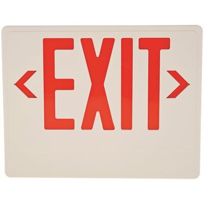Remote Capability LED Exit Sign Light