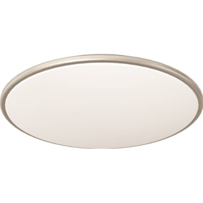 4-Light Flush Mount Size: 3.75 H x 20.75 D