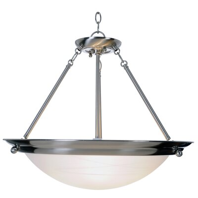 Lunar Bay 2-Light Inverted Pendant Size: 21.5