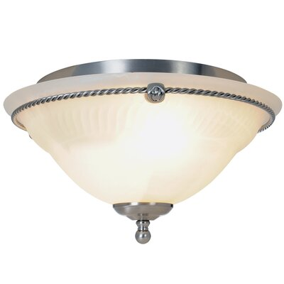 Calmers 2-Light Flush Mount