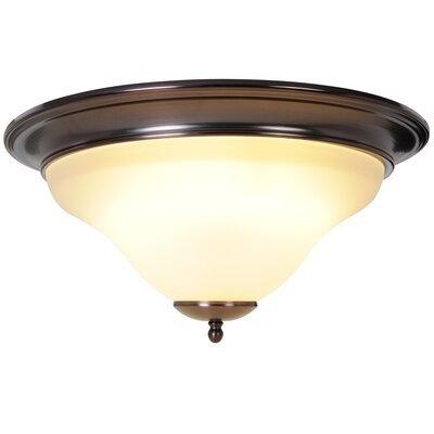 Sanibel 1-Light Flush Mount Finish: Oil Rubbed Bronze