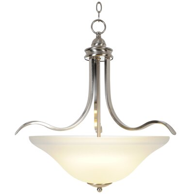 Sanibel 4-Light Inverted Pendant Finish: Brushed Nickel