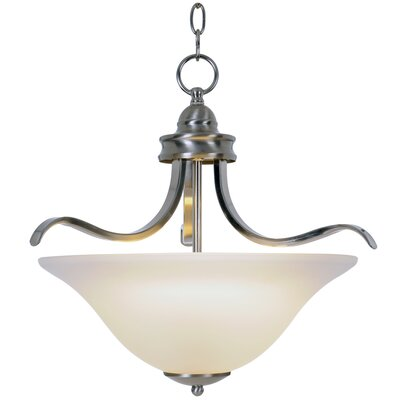 Sanibel 3-Light Inverted Pendant Finish: Brushed Nickel