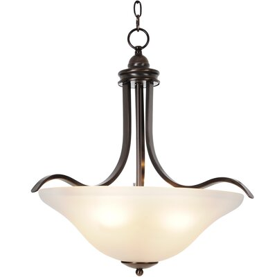 Sanibel 4-Light Inverted Pendant Finish: Oil Rubbed Bronze