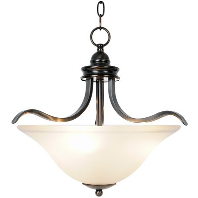 Sanibel 3-Light Inverted Pendant Finish: Oil Rubbed Bronze