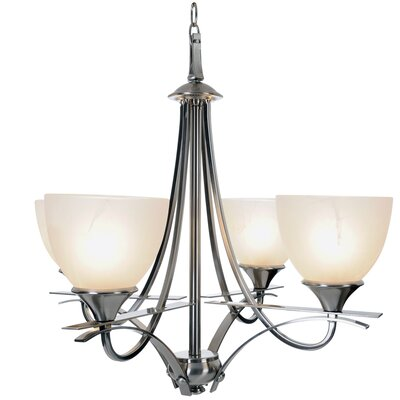 Durango Lighting 4-Light Shaded Chandelier