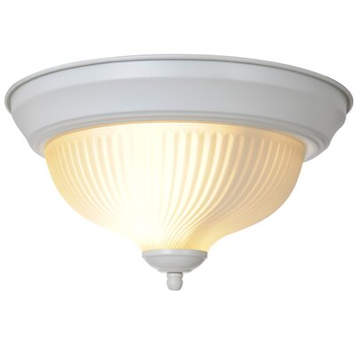 Bodnar 1-Light Flush Mount Finish: White