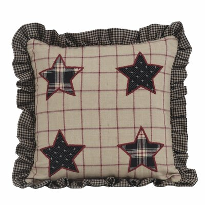 Bingham Star Cotton Throw Pillow