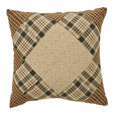 Chilverton Quilted Cotton Throw Pillow