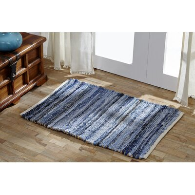 Jansen Denim & Hemp Area Rug Rug Size: 5 x 8