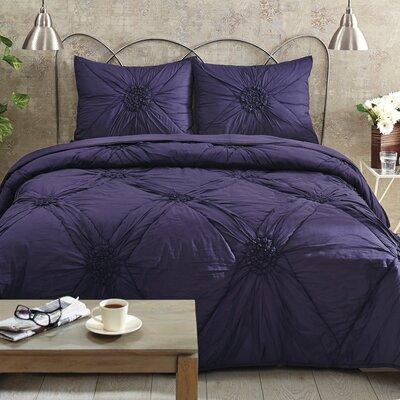 Monique Quilt Set Size: King, Color: Nightshade