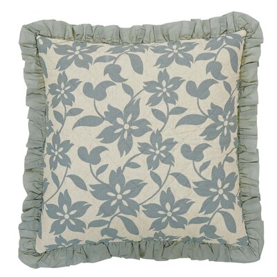 Kim Quilted Sham Size: Luxury, Color: Sage