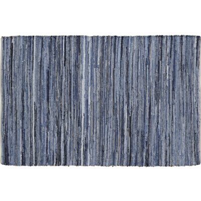 Denim & Hemp Chindi Rag Area Rug Rug Size: 3 x 5