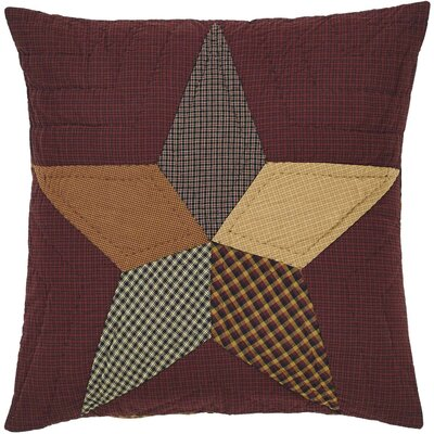 Ager Star Quilted Euro Sham