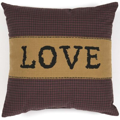 Erekson Love 100% Cotton Throw Pillow