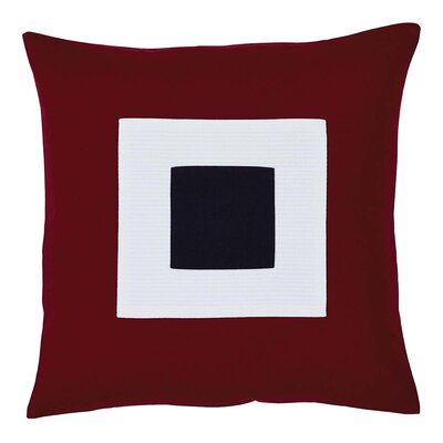 Quevedo Applique 100% Cotton Throw Pillow