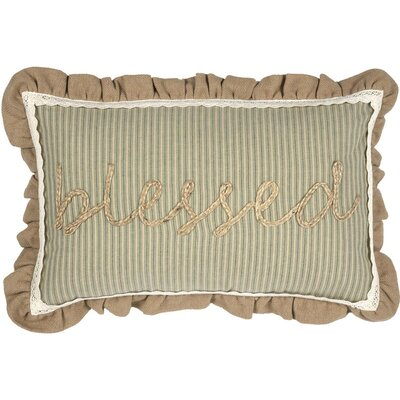 Marrero-Choe Blessed Lumbar Pillow