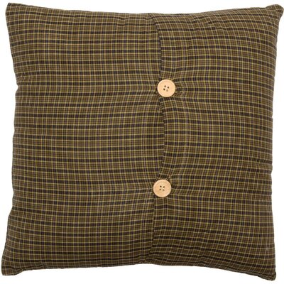 Annabelle Plaid 100% Cotton Throw Pillow