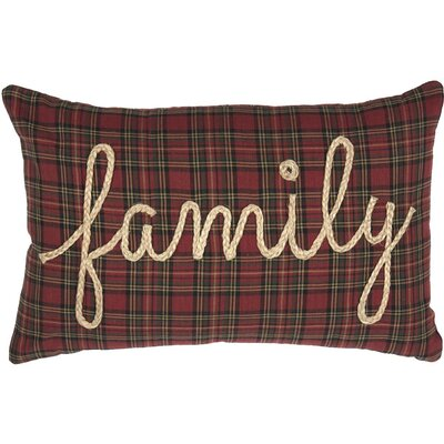 Perlowitz Family 100% Cotton Lumbar Pillow