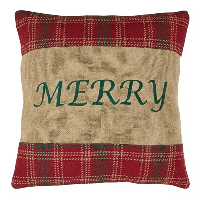 Arzumanian Merry 100% Cotton Throw Pillow