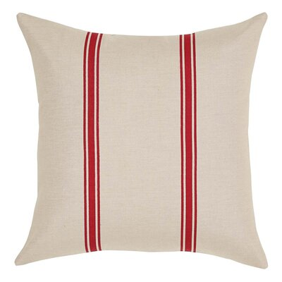 Boucher Throw Pillow Color: Rouge