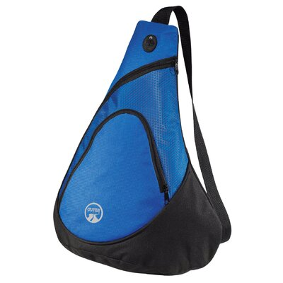Outer Style Colorblock Sling Backpack - Color: Blue at Sears.com
