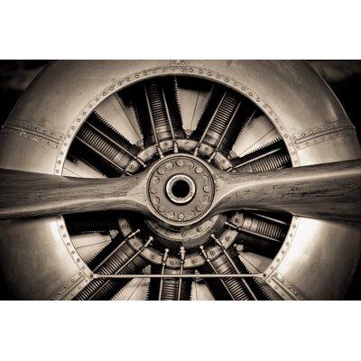 """Vintage Plane Prop"""" Photographic Print Plaque TMP-EAD0973-4832"""