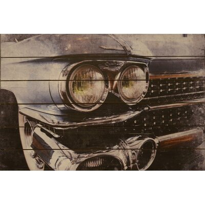 Cadillac Arte De Legno Photographic Print