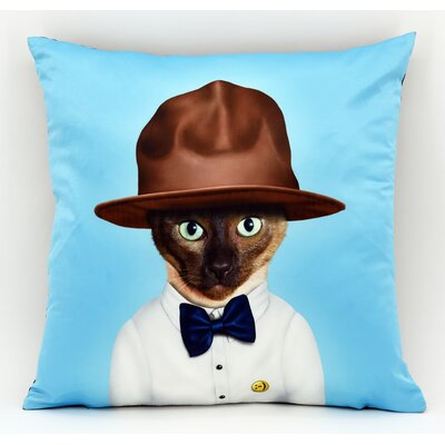 Pets Rock� Purrell Throw Pillow