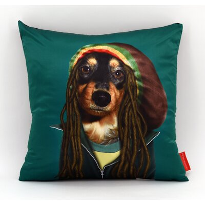 Pets Rock� Reggae Throw Pillow
