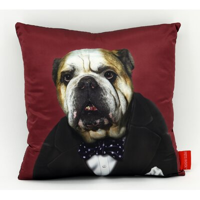 Pets Rock Leader Throw Pillow