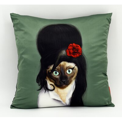 Pets Rock� Tattoo Throw Pillow