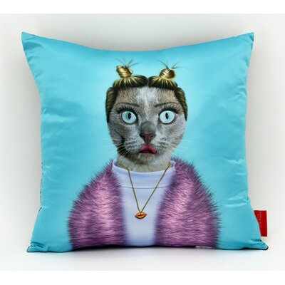Pets Rock Twerk Throw Pillow