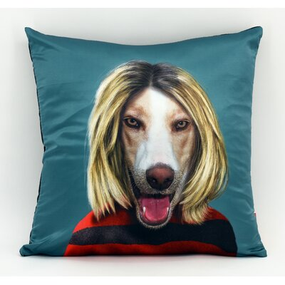 Pets Rock Grunge Throw Pillow