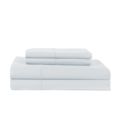 Devonshire of Nottingham 800 Thread Count Egyptian Quality Cotton Sheet Set Color: Light Blue, Size: King