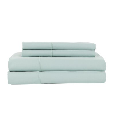 Devonshire of Nottingham 1200 Thread Count Egyptian Quality Cotton Sheet Set Size: King, Color: Ocean Blue