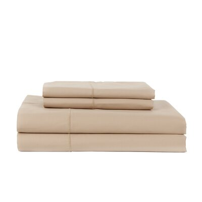 Devonshire of Nottingham 1200 Thread Count Egyptian Quality Cotton Sheet Set Size: Queen, Color: Taupe