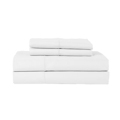 Devonshire of Nottingham 1200 Thread Count Egyptian Quality Cotton Sheet Set Size: Queen, Color: White
