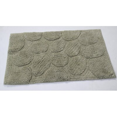 Castle Palm Bath Rug Size: 24 H X 17 W, Color: Light Sage
