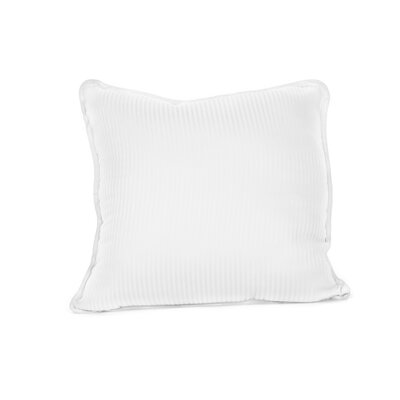 Devonshire of Nottingham 540 Thread Count 100% Cotton Throw Pillow Color: White