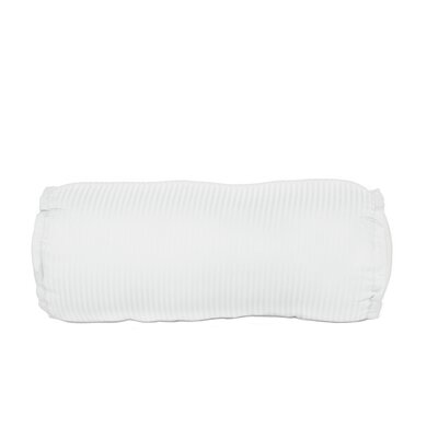 Devonshire of Nottingham 540 Thread Count 100% Cotton Bolster Pillow Color: White