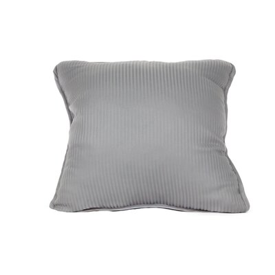 Devonshire of Nottingham 540 Thread Count 100% Cotton Throw Pillow Color: Silver