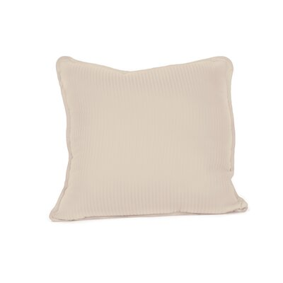 Devonshire of Nottingham 540 Thread Count 100% Cotton Throw Pillow Color: Sandstone