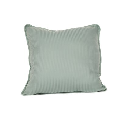 Devonshire of Nottingham 540 Thread Count 100% Cotton Throw Pillow Color: Ocean Blue