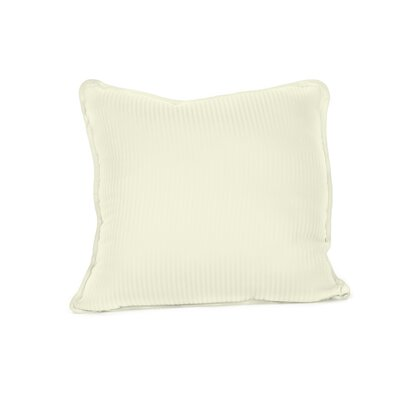 Devonshire of Nottingham 540 Thread Count 100% Cotton Throw Pillow Color: Ivory